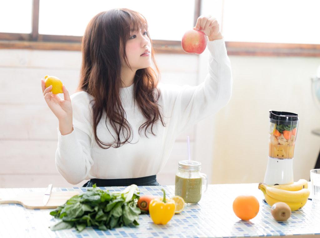 下半身ダイエットのためには食事改善も必要?