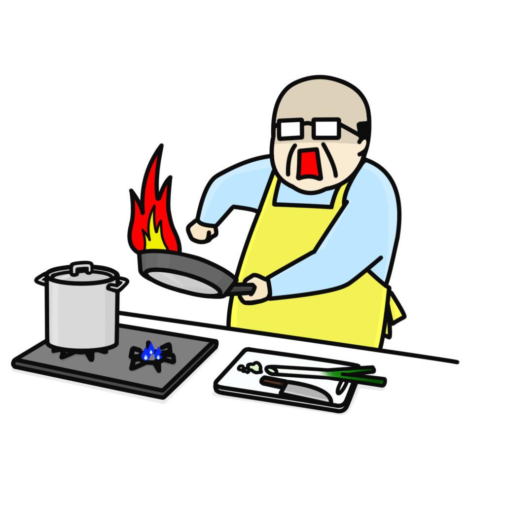 youtubeを見ておっさんが料理を始める!
